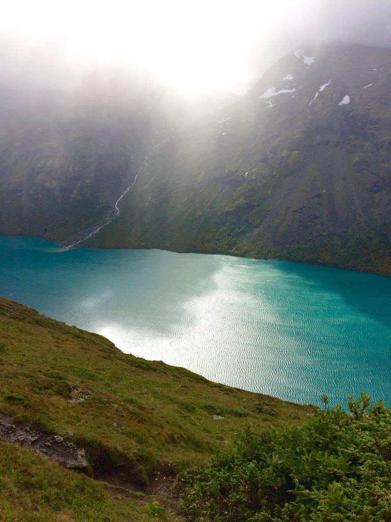 Gjendevattnet Bukkelægret Besseggen i Norge