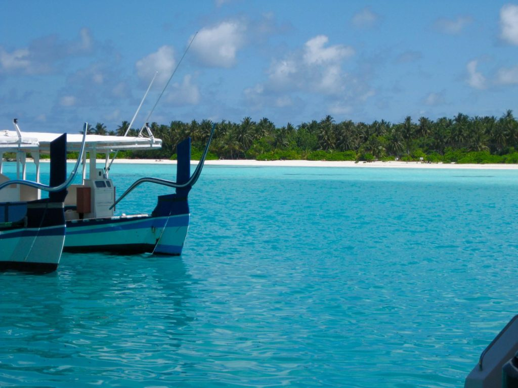 Maldiverne, Maldives, Sun Island, boats