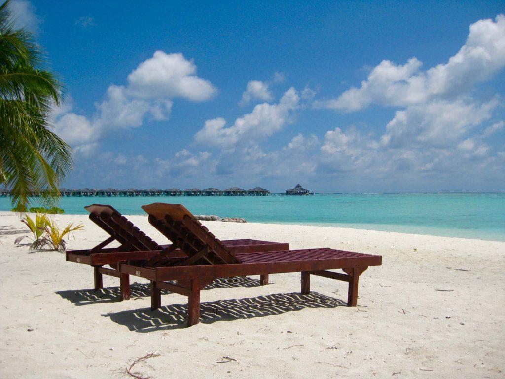 Maldiverne, Maldives, Sun Island, beach