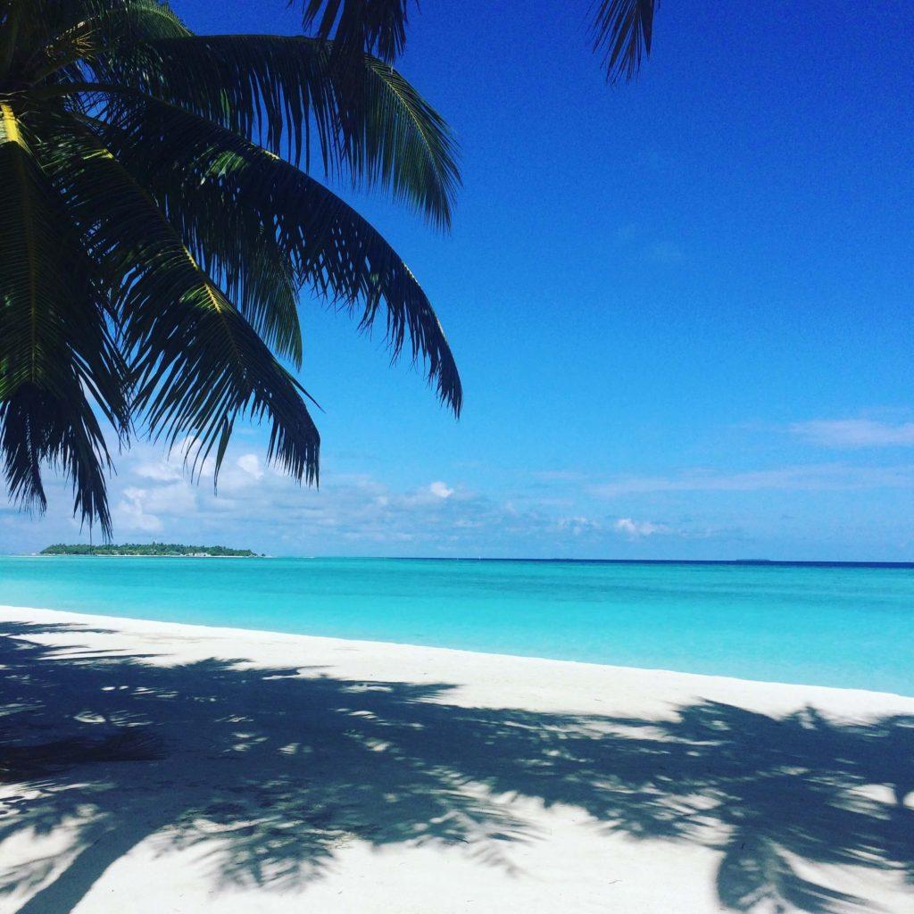 Maldiverne, Maldives, Sun Island beach