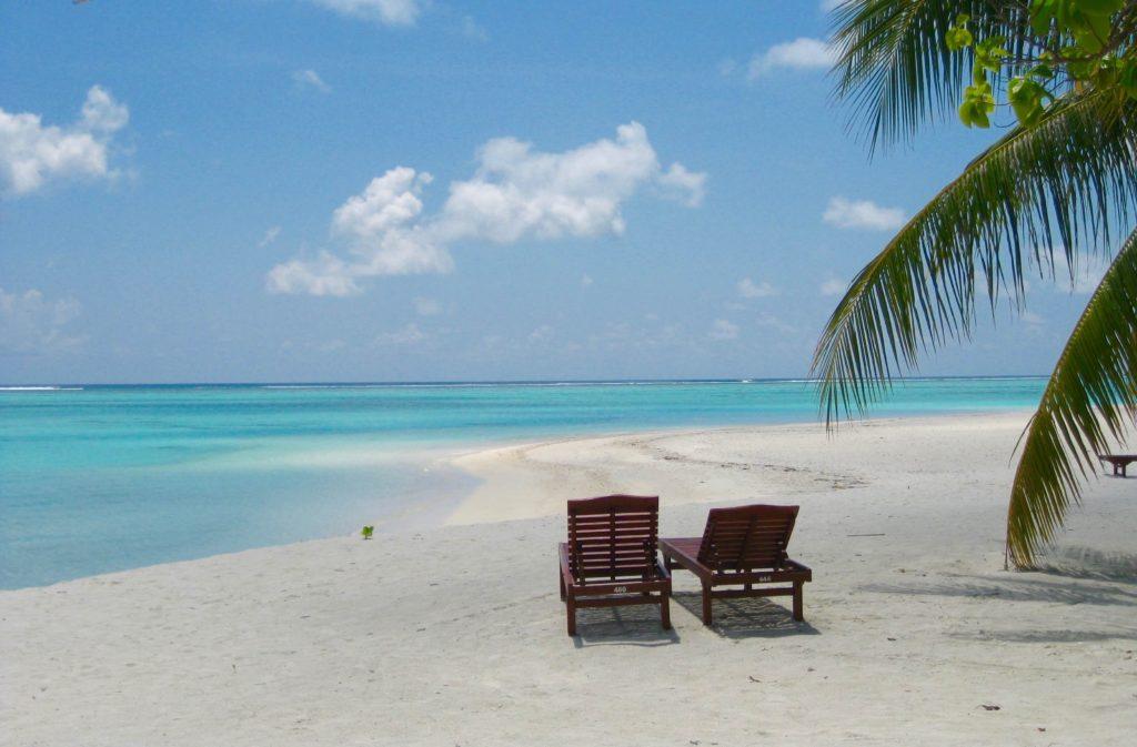 Maldiverne, Maldives beach chairs
