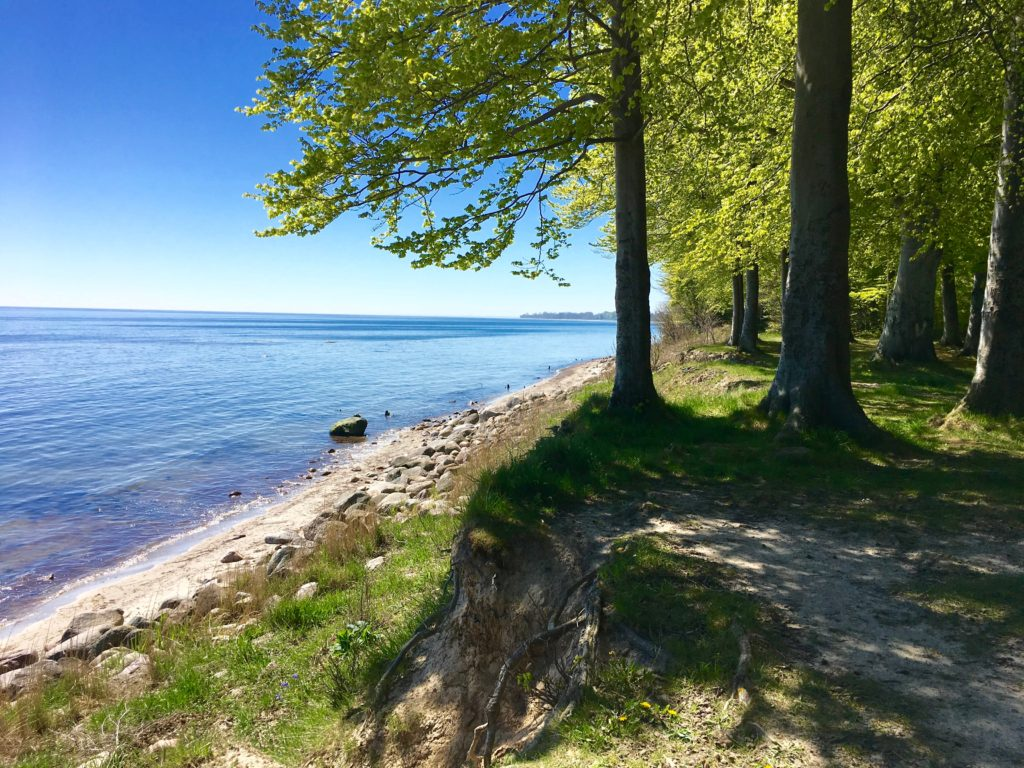 Corselitze Østersøen strand hav