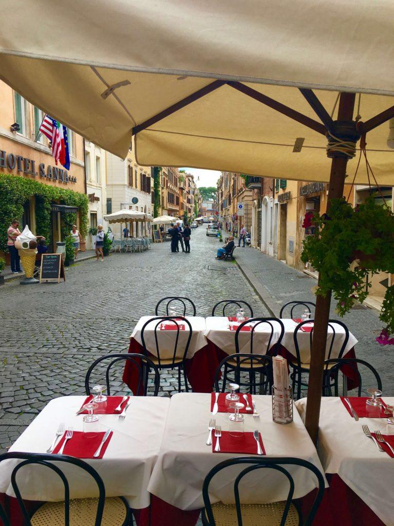 italiensk restaurant